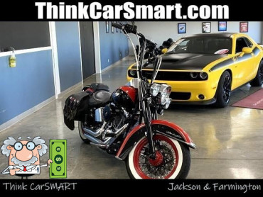2010 HARLEY-DAVIDSON FLSTN Heritage Deluxe Motorcycle - 012046 - Image 1